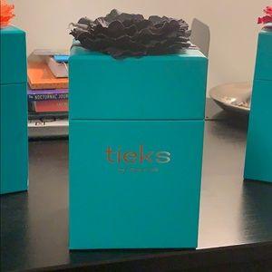 Tieks Box with Black Flower